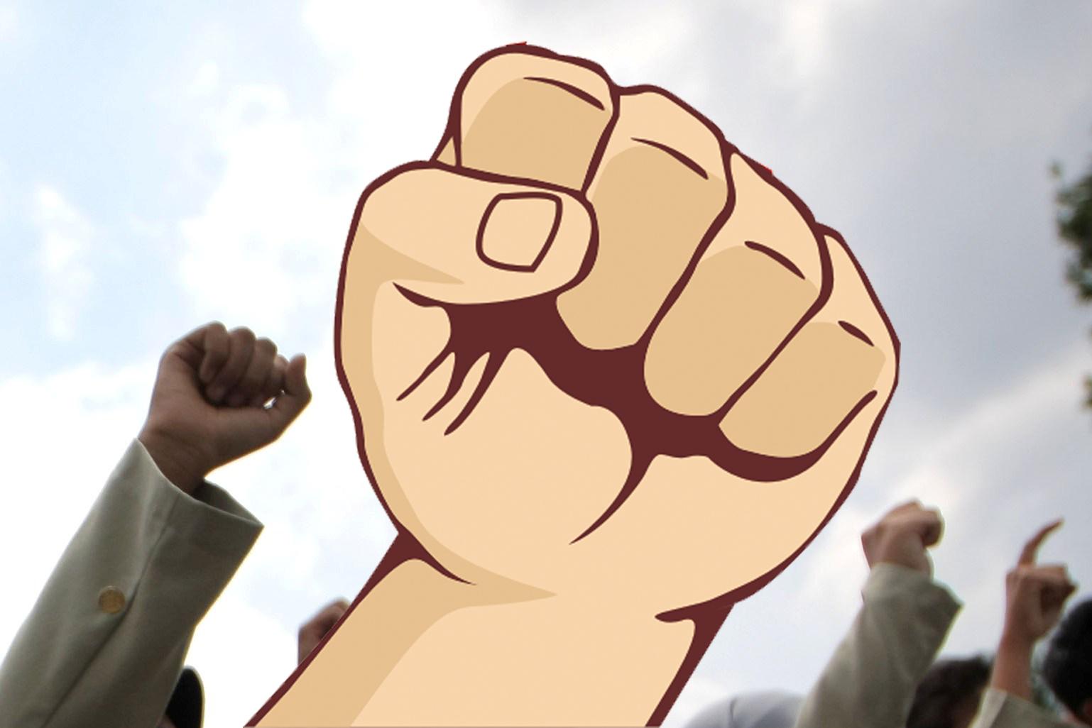 Koleksi Animasi Orang Demo Kantor Meme